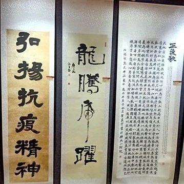 """望江县2件书法作品入选第五届""""健康中国""""书法美术作品展"""
