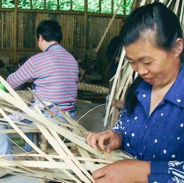 一根竹条!编织不一样的人生