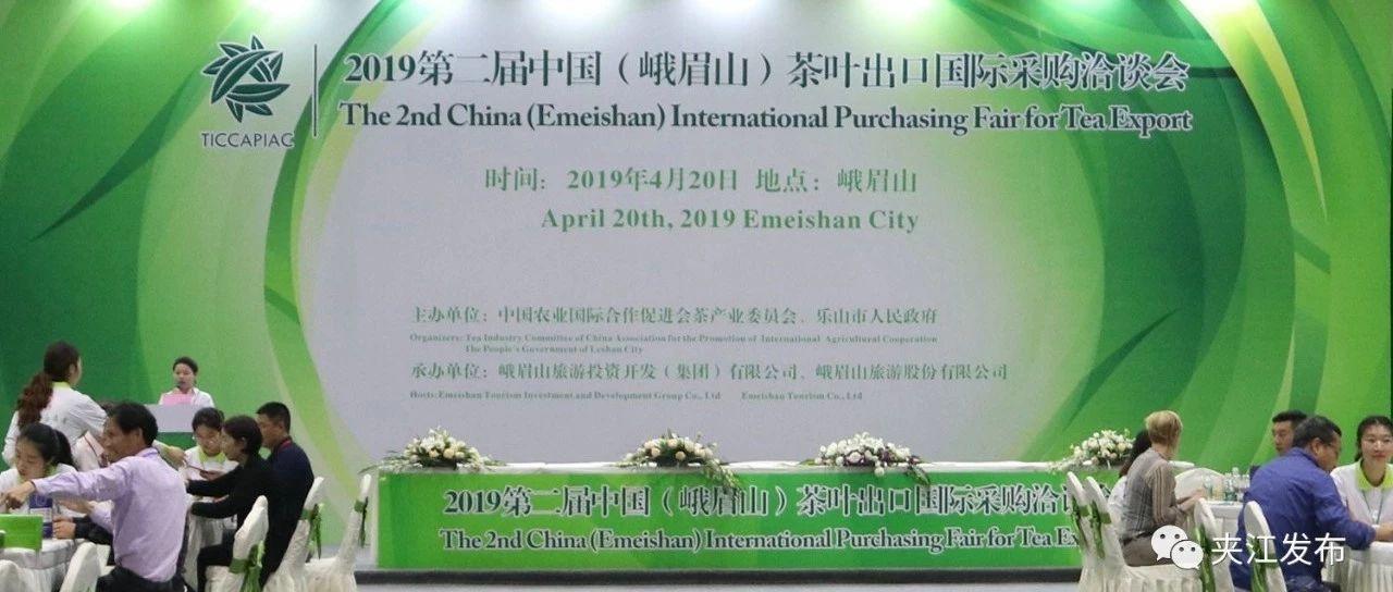 """夹江茶企""""以茶为媒""""与国际采购商共商""""茶路"""""""