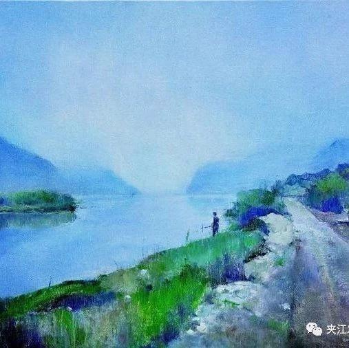 拆迁之前,这位画家用4年300幅画记忆这座夹江山村