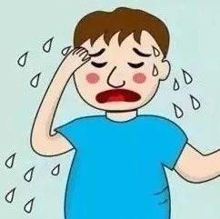 �鄢龊沟娜俗⒁饬耍荷眢w�@5��部位��常出汗,可能是有病