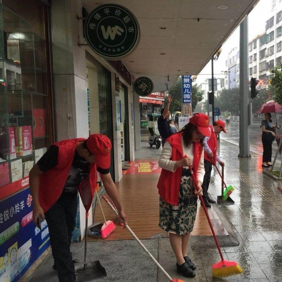 满城尽是红马甲,他们在揭西街头做什么?