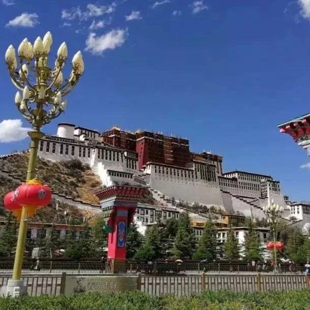 揭西这位环中国骑行的勇士已经到西藏了!