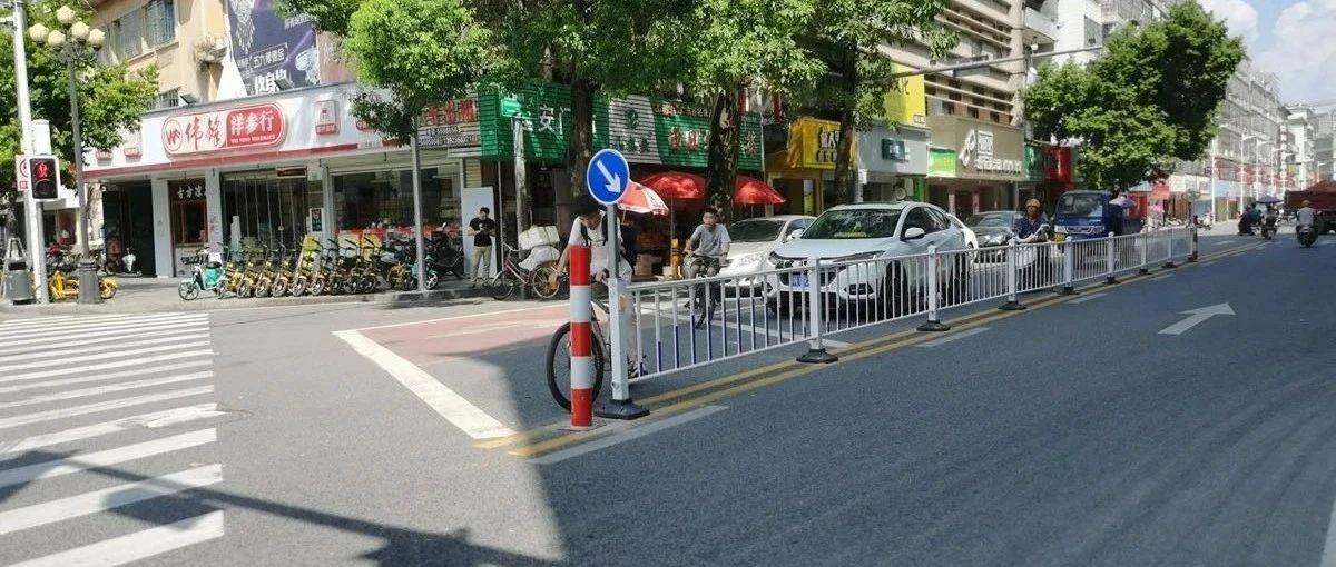 揭西这个路口装上护栏了,对此你有什么看法?
