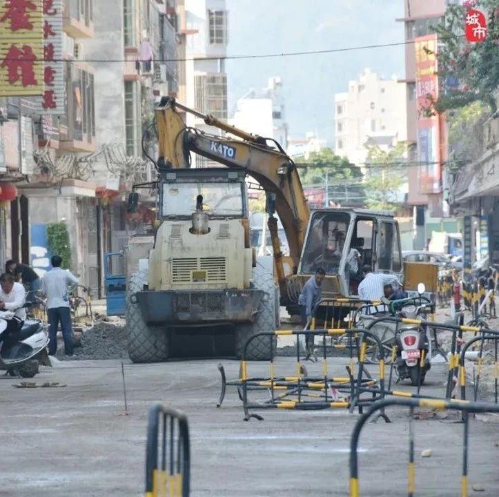 计划总投资1040万元――县城温泉路升级改造最新施工进展