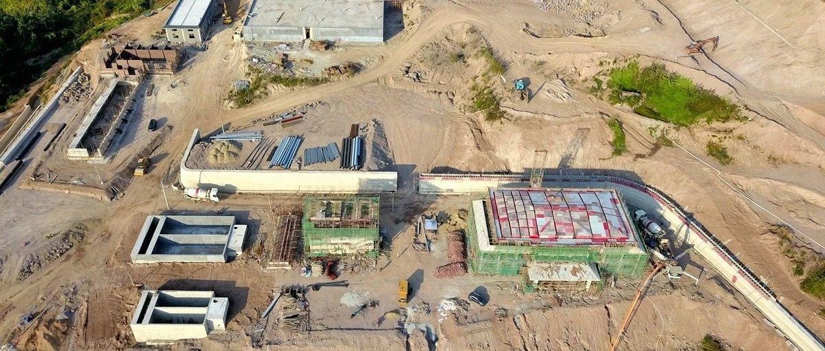 首期投资约1.48亿,供应揭西4个镇居民用水的自来水厂最新施工进展