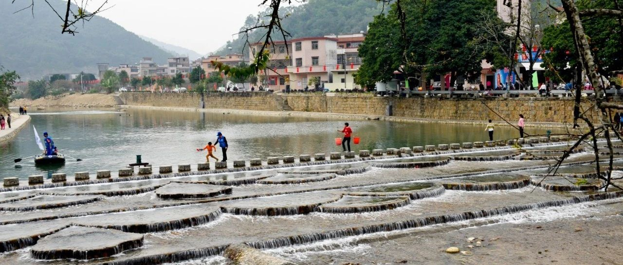 揭西这个小镇有一座网红梅花坝等……山清水秀空气甜!