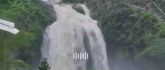 吓死人!揭西百潭谷山洪爆发惊险视频曝光