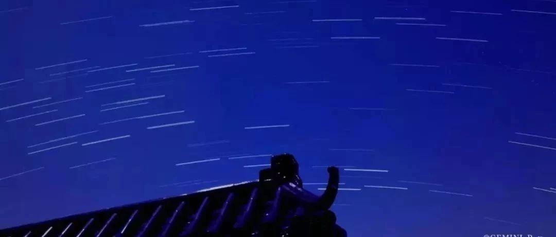 刷爆!昨晚�p子座流星雨���^揭�夜空,你看�了�幔�
