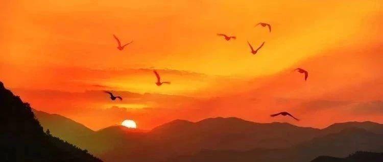 揭西天竺古�r白面石上看金山日出、�R山日落