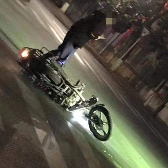简讯两则|揭西某十字路口,摩托车与汽车相撞......
