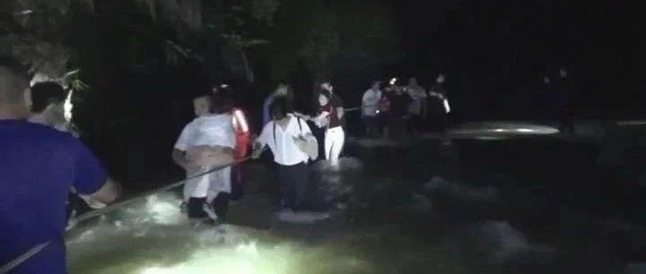 突发!揭西大北山水库下游17名群众被山洪围困,消防披露救援历程