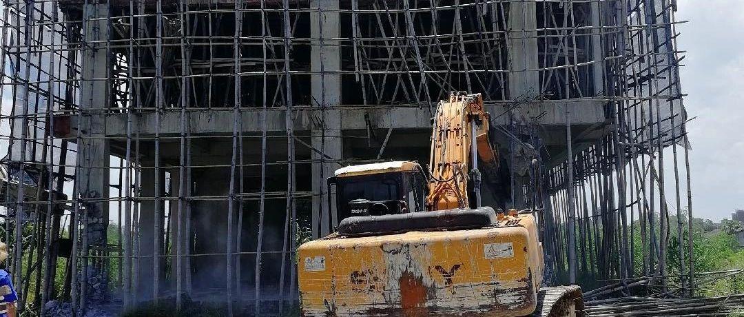 大行动!揭阳一违法建设项目被强制拆除,接下来还要严查...