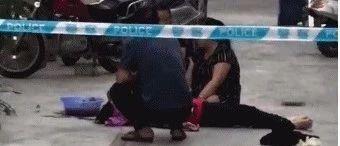悲剧!揭阳一住宅区发生坠楼事件,一花季少女躺地不起