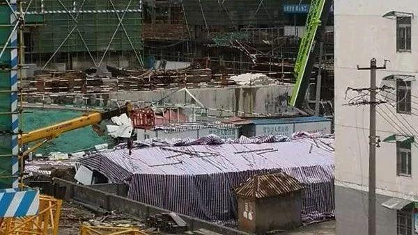 临县碧桂园工地围墙和活动板房坍塌,已致6人死亡!