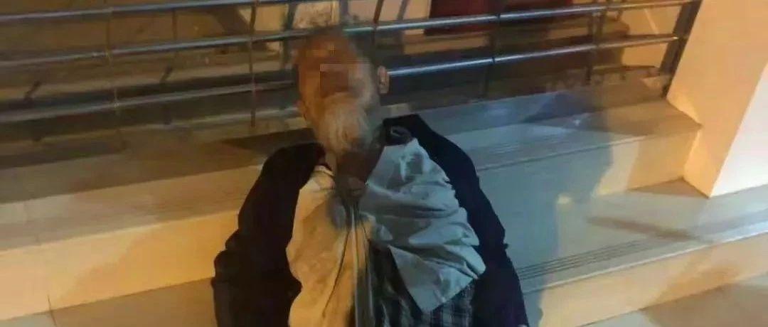 """90岁老人凌晨躺在街头,""""海鲜哥""""看到做了个决定,感动一座城"""