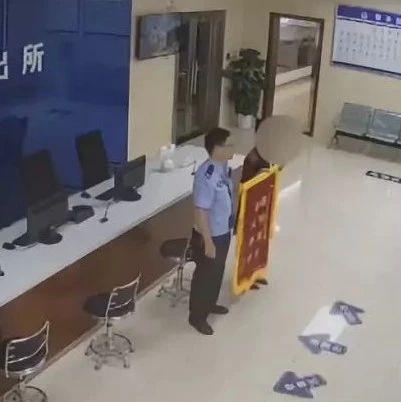 【提醒】被骗5万追回,女子送锦旗:能再报个警吗?又被骗了