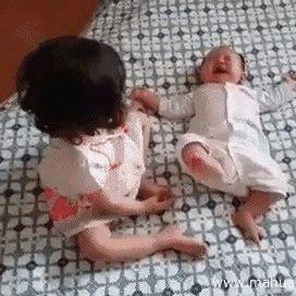 叫你生二胎!叫你生二胎!笑晕了…
