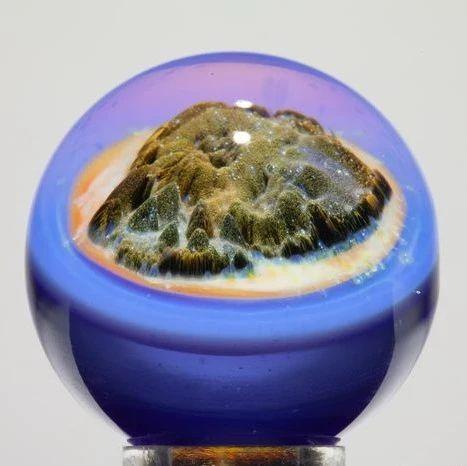玻璃球里的花纹怎么弄进去的?童年之谜终于解开了