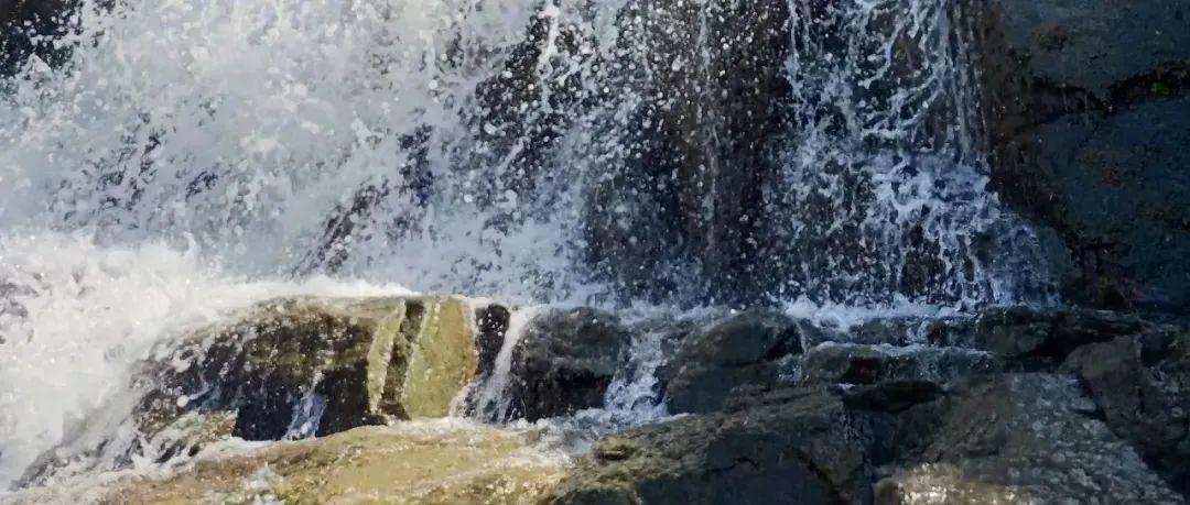 下华庄的泉水与瀑布