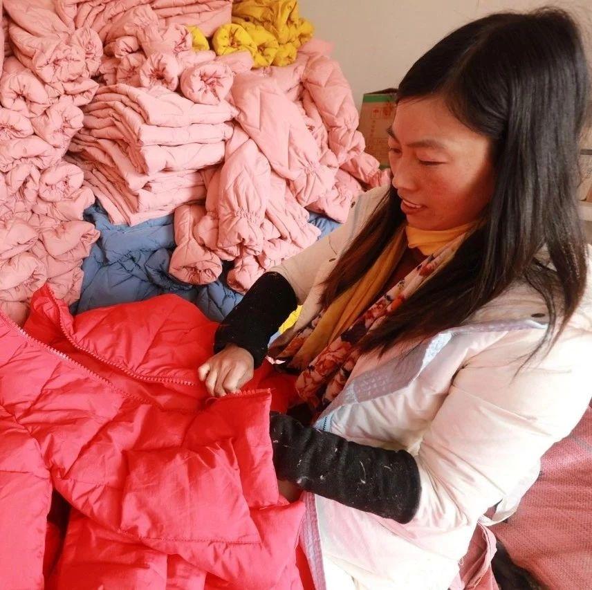 光山这个厂不简单!年生产羽绒服10万余件、年产值达1000多万元…