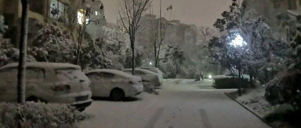 """大雪之后,光山人春�也要""""泡��""""了!初一到初七,可能天天有雨雪…"""