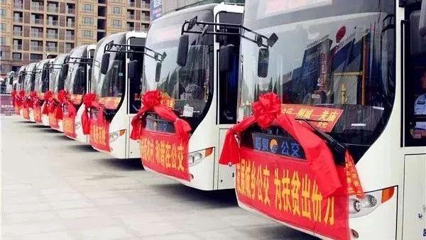 今天,临泉这20多个乡镇通公交车啦!
