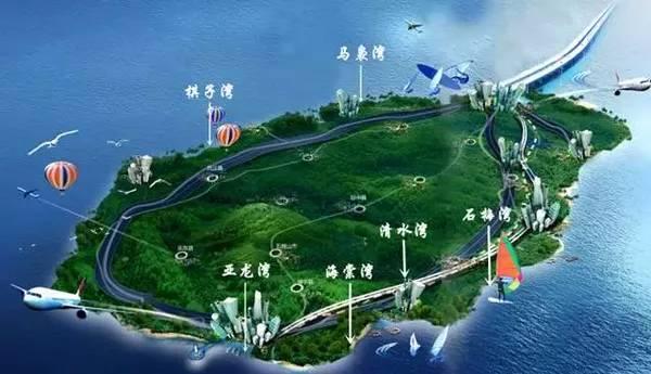海南岛著名的六大湾区,令人景仰的生活方式