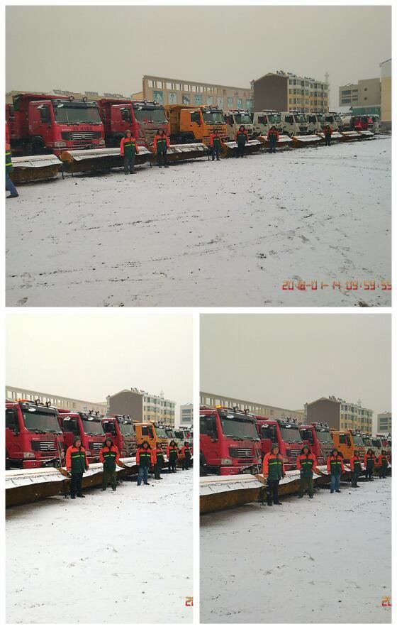 【城事】雪天,向坚守在一线的白城城管队员们致敬!