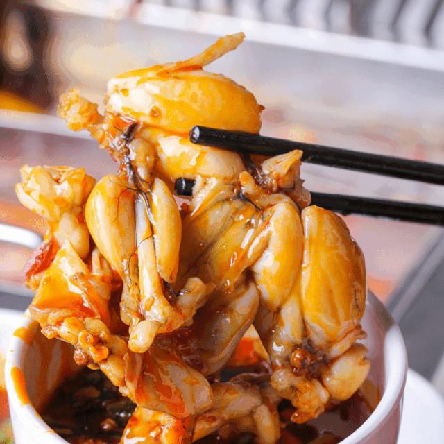火锅+美蛙!南溪这家新店太任性了,9.9元狂吃3三斤美蛙+午餐肉!
