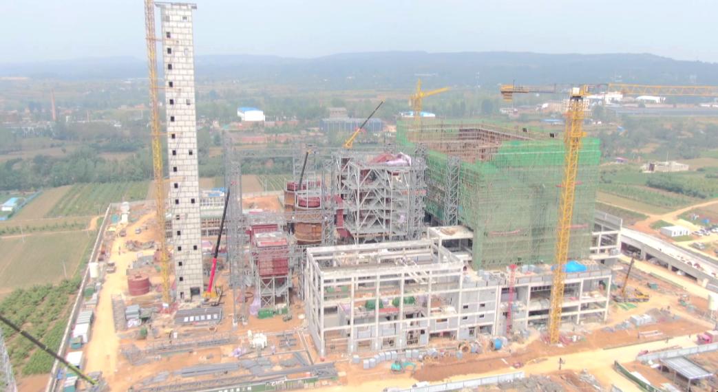 总投资4.8亿!新安垃圾焚烧发电项目建设最新进展
