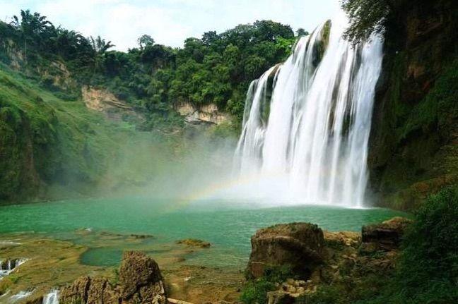 �新安八景――山�w瀑布