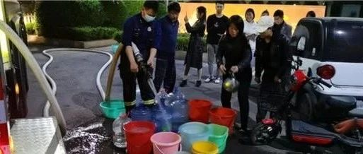 2000余户居民用水告急,新郑消防这个举动亮了......