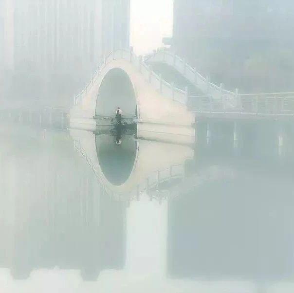 【视频】原来雾中的轩辕湖也这么美......人间仙境!