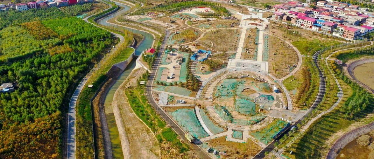 本月底,长葛这里将建成一座540亩大公园!