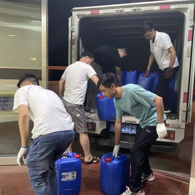 瑞康医药有限公司为长葛捐赠10余万元药品、20吨消杀物资!