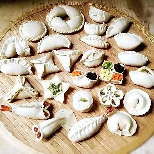 各种花式包饺子方法,港区人赶紧学习,今天就能用得上!