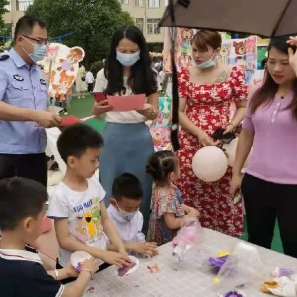 """【我为群众办实事】南城公安积极开展""""关爱儿童反对拐卖""""宣传活动"""