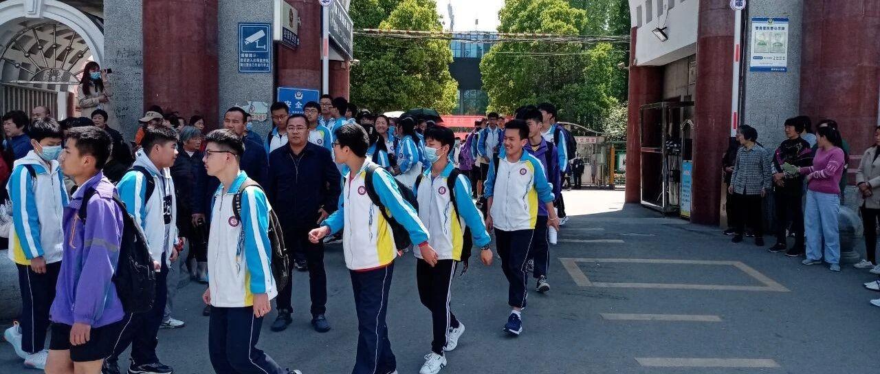 霍邱二中1100多名学生体育加试、理化试验考试开始