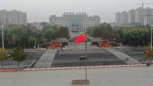 高邑,满城尽是中国红