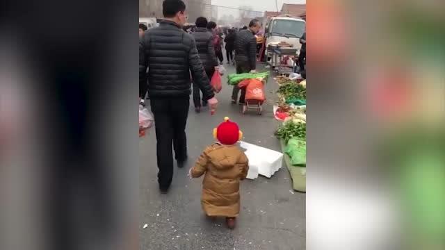 """百米耗油仅一颗草莓!亲爹带娃再现""""神仙版本"""""""
