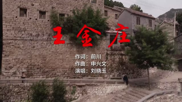 歌曲王金庄MV