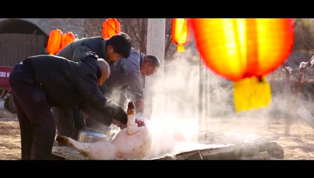 府谷年味-《忙年》――�北府谷大�^年系列��片