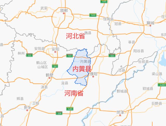 河南安阳市这个县,因黄河而得名,如今却不在黄河边