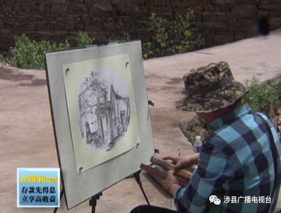 南京墨海玩家书画院到涉县采风