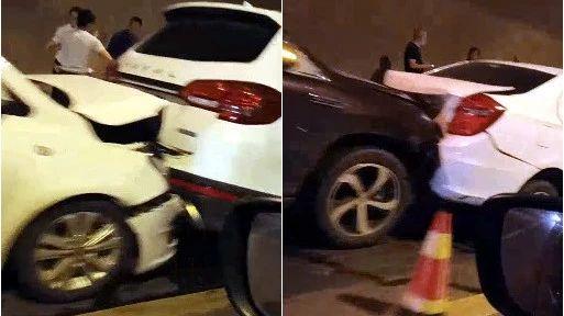 宜宾观斗山隧道发生多车相撞,现场惨不忍睹!