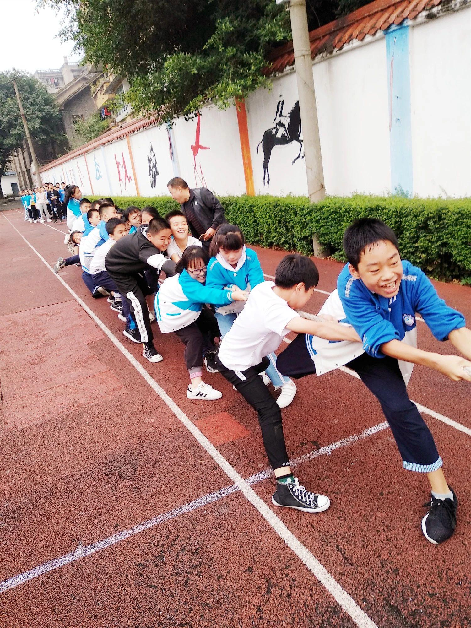 21个班,700多名运动员,南溪这所学校的活动现场超精彩!