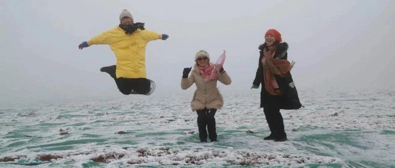 """不要羡慕别人家的雪,咱大金沙平台也""""下雪""""了,看图~"""