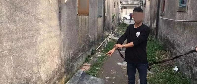 汕头男子在潮州疯狂作案49宗,潮州警方循线追踪擒盗贼