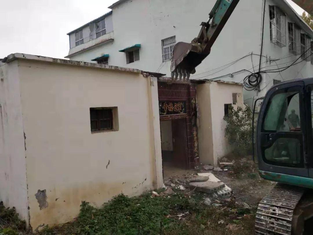 拆!唐河拆除了�@么多�`法建筑!��家院、��煸谀慵腋浇��幔�